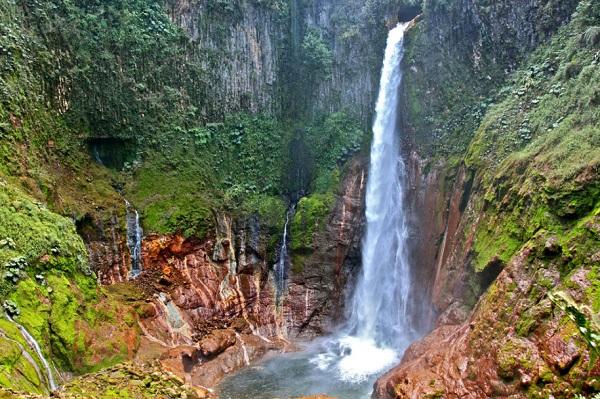 Cascade de Bajo del Toro, ouest du volcan Poas, Costa Rica
