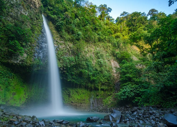 Cascade de La Fortuna, volcan Arenal, Costa Rica