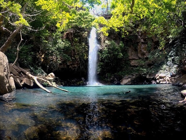 Waterfall du Rincon de la Vieja, Nord du Costa Rica