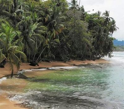 Plage de la cote Caraïbe du Costa Rica, voyage à la carte au Costa Rica