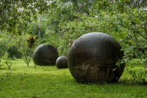 Monument national de Guayabo vallee de Turrialba Costa Rica