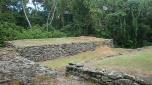 Monument de Guayabo vallee de Turrialba Costa Rica