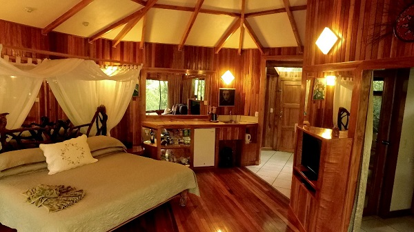 Monteverde, chambre de l'Hidden Canopy, Costa RIca, sejour sur mesure au Costa Rica