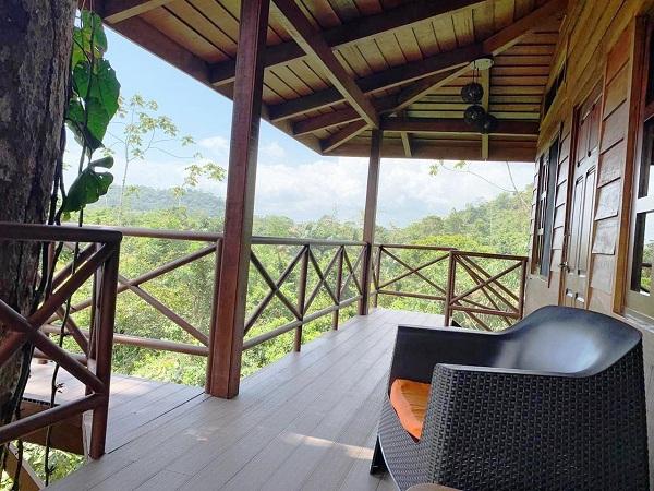 Maquenque lodge, chambre dans les arbres, Boca Tapada, voyage sur mesure au Costa Rica