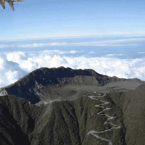 Volcan Turrialba et son parc national Costa Rica