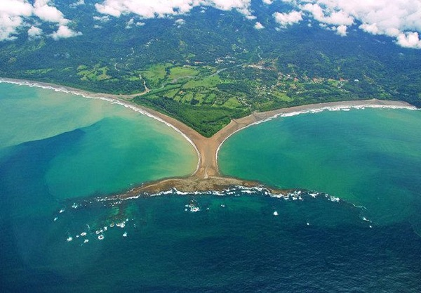 Le parc national Marino Ballena, Costa Rica.