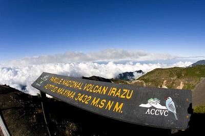 Le parc national du volcan Irazu , Costa Rica