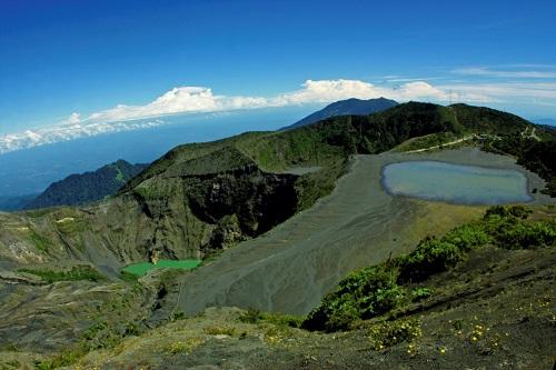 Cratere du volcan Irazu, Costa rica