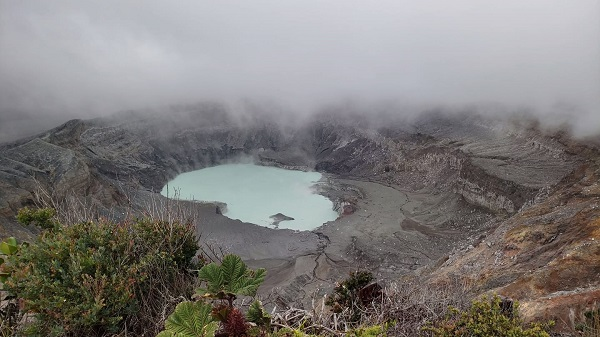 Le parc national du volcan Poas, Costa Rica