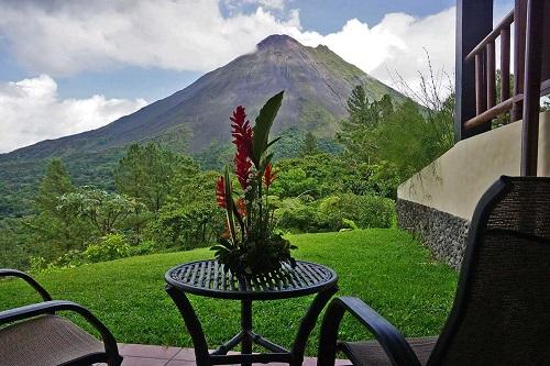 Hôtels du volcan Arenal Costarica vue de l'Arenal Observatory lodge