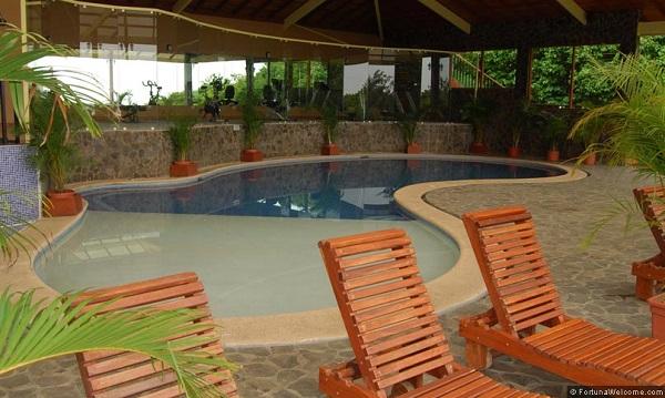 hotels Monteverde Santa Elena Piscine a l'hotel EL Establo