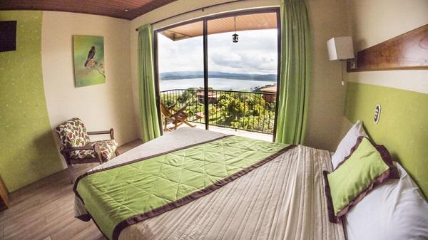 Chambre a l'hotel Linda Vista Del Norte la Fortuna parc national du volcan Arenal