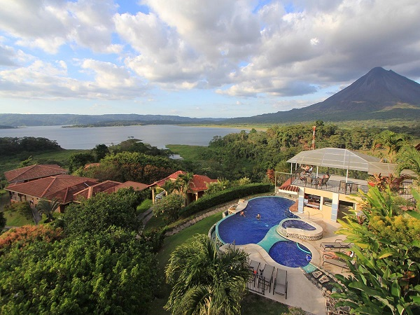 Hôtels du volcan Arenal Costarica hotel Linda Vista del Norte la Fortuna