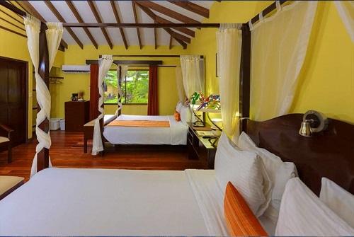 Chambre a l'hotel Manatus Hôtels de Tortuguero costa rica