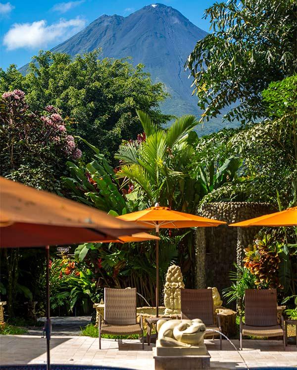 Hôtels du volcan Arenal Costarica Hotel Nayara