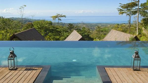 hotels Manuel Antonio Dominical piscine a l'hotel Oxygen jungle villas