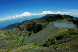 le parc national du volcan Turrialba volcan Irazu