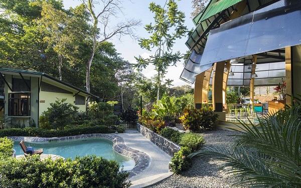 hotels manuel Antonio Dominical Ojochal Piscine au Yaba Chigui a Ojochal pacifique sud du Costa Rica