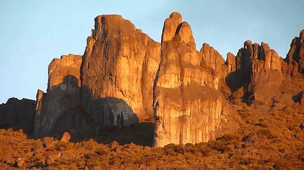 Parc national du Cerro Chirripo, Crestones
