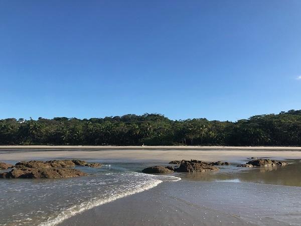 Playa Santa Teresa, sud de la peninsule de Nicoya, Costa Rica