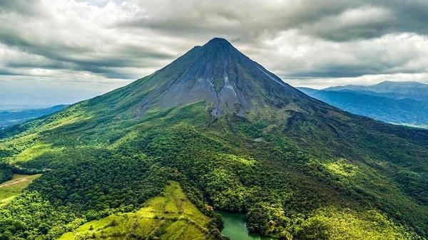 Le volcan Arenal, region de La Fortuna, Costa Rica