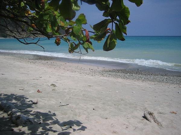 Le refuge national de Cabo Blanco, plage du parc. Sud de la peninsule de Nicoya Costa Rica