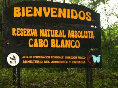 Le refuge national de Cabo Blanco.
