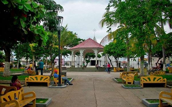 Place central de la ville de Liberia dans le Guanacaste