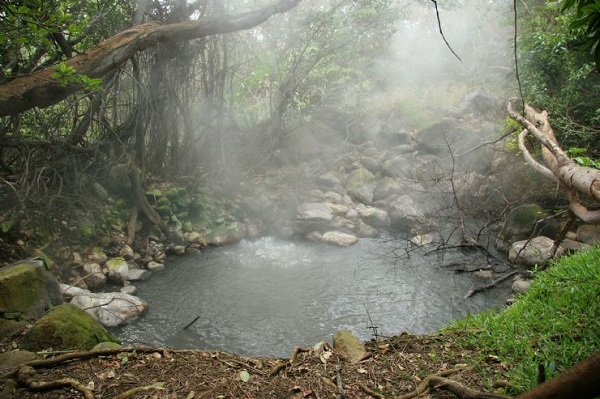 Secteur de las Pailas dans le parc national du Rincon de la Vieja