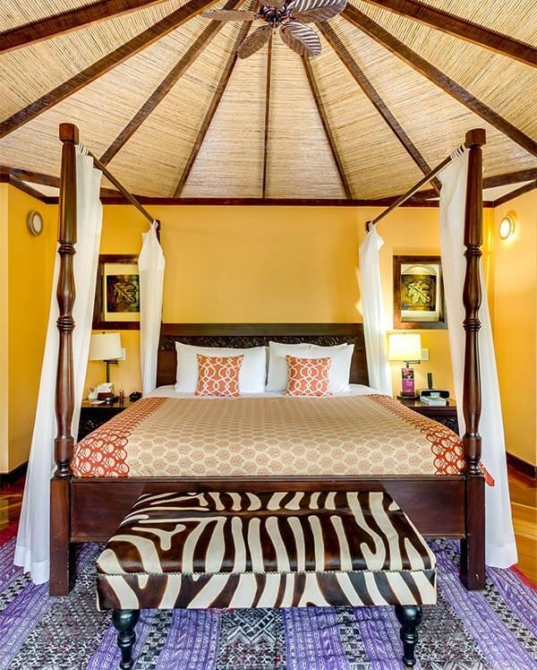 Chambre a l'hôtel Nayara, volcan Arenal, séjour de luxe sur mesure au Costa Rica