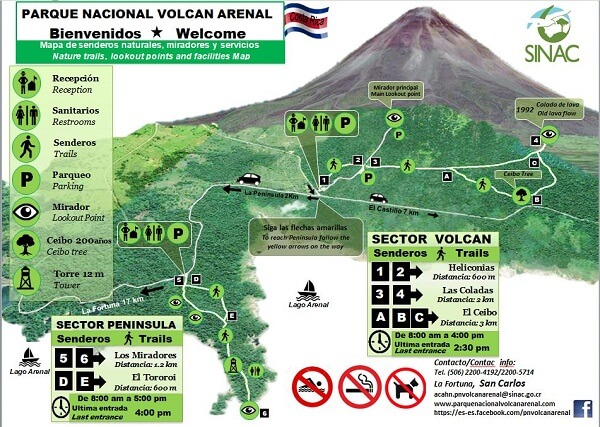 Le volcan Arenal et son parc national, Costa Rica
