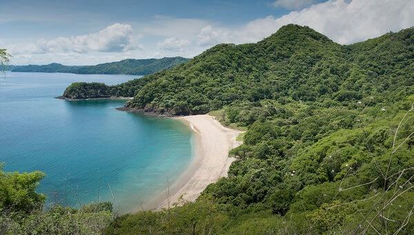 Plage du golf de Papagayo, nord pacifique du Costa Rica, vacances et voyage sur mesure au Costa Rica