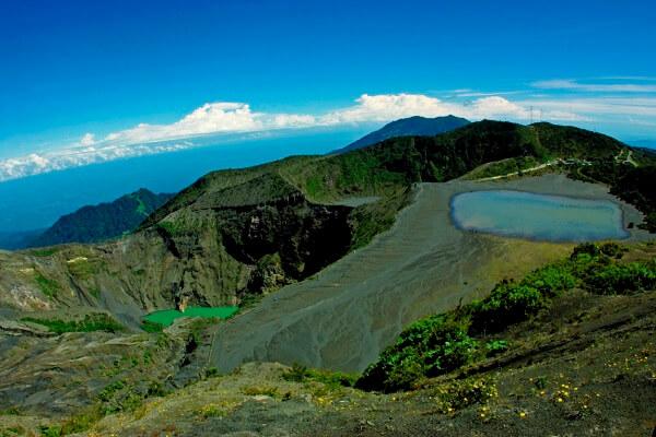 Activités des volcans du Costa Rica le 18 aout 2021, Le volcan Irazu