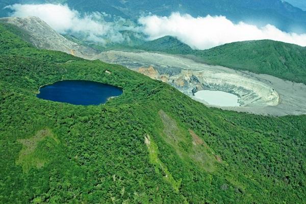 Activités des volcans du Costa Rica le 18 aout 2021, Le volcan Poas