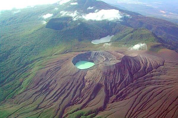 Activités des volcans du Costa Rica le 18 aout 2021, Le volcan Rincon de la Vieja
