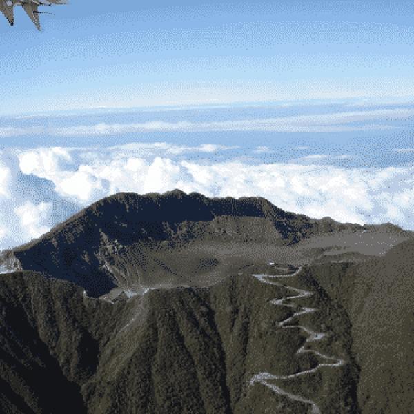 Activités des volcans du Costa Rica le 18 aout 2021, Le volcan Turrrialba