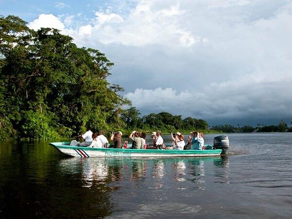 Les bateaux de Tortuguero ou Lancha