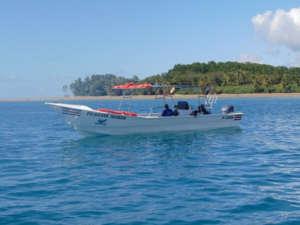 Excursion en bateau dans le parc maritime Marino Ballena, observation des baleines