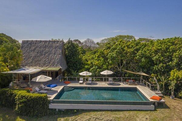 Hôtels de Santa Teresa, Calamocha lodge piscine