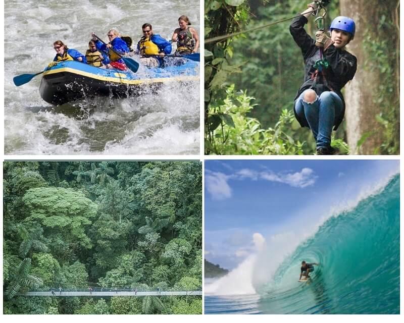 Des activités pour tous au Costa Rica, un programme de voyage sur mesure avec notre agence locale française