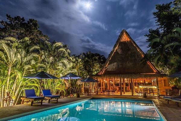 Kaya Bloom, playa Manzanillo, piscine