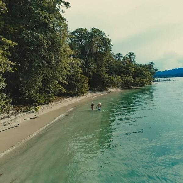 Le parc national de Cahuita, côte Caraïbe du Costa Rica