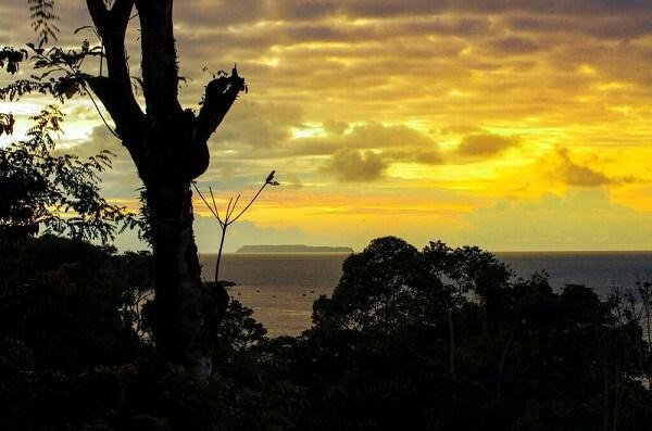 Ile Cano au nord de la péninsule de Osa, Costa Rica