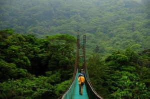 Ponts suspendus a Monteverde, Costa Rica ou Sky Walk