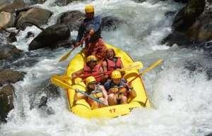Rafting sur le Rio Tenorio au Costa Rica