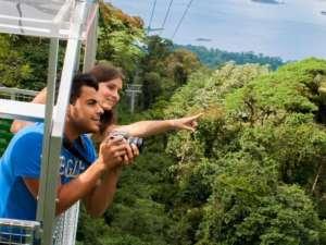 Telepherique de la jungle ou Sky Tram au volcan Arenal, Costa Rica