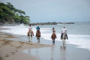 Randonnee a cheval sur la cote pacifique du Costa Rica