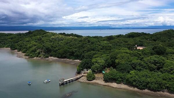 Le Parc national de l'Île San Lucas, Costa Rica.