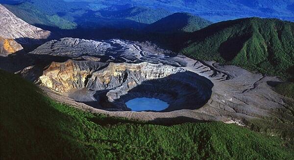 Le volcan Poas zone protégée, Costa Rica